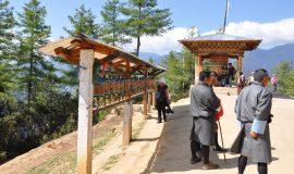 prayer-wheels-bhutan